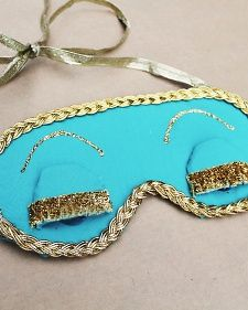 Holly Golightly's Sleep Mask | Step-by-Step | DIY Craft How To's and Instructions| Martha Stewart