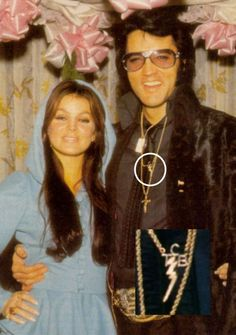 4-Elvis wore a cross