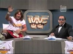 Rowdy Roddy Piper, and Gorilla  Monsoon.