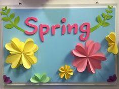 봄봄봄 봄을 기다리며 새학기 환경판은 플라워페이퍼로!! 간단하지만 꽉~ 찬 느낌으로^^ 분위기를 살리고 ...