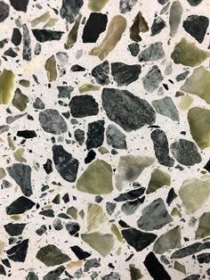 bCd - Terrazzo is an age old technique that's having a revival. Having laid it in our kitchen floor I can assure you in hides all mess, hardwearing and always looks fabulous 👍 Terrazzo Flooring, Kitchen Flooring, Kitchen Countertops, Kitchen Cabinets, Diy Kitchen, Kitchen Decor, Kitchen Colors, Kitchen Ideas, Kitchen Interior