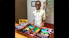 """Our #mcm is the 13 year-old #MoziahBridges, the CEO and founder of """"Mo's Bow"""",he started his business when he was 9 years old using  his Granny's scrap fabric to make and sell his own bow ties. Bridges now has five staff members and has received a ton of media attention, from an appearance on the TV show Shark Tank. Moziah has built himself a $200,000 business. #mcm #career #entrepreneur #dubai #ceo #founder #bowties #sharktank #youngentrepreneur #hardwork #success #hustle #fashion"""