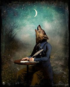 The Poet by Christian Schloe.