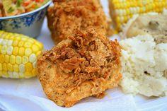 southern fried tofu / leafycauldron.com