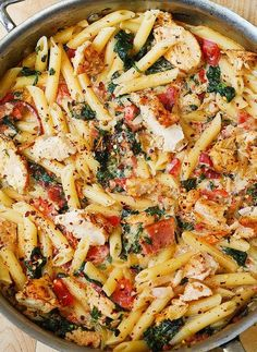 Low FODMAP and Gluten Free Recipe of the day - Chicken, tomato, bacon and basil pasta http://www.ibssano.com/low_fodmap_recipe_tomato_chicken_bacon_basil_pasta.html