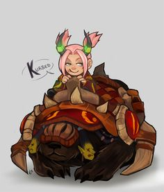 Quick Sai painting for a friend in WoW. ~ by *Kayley