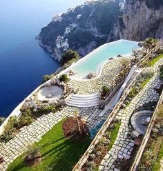 Monastero Santa Rosa Hotel and Spa travel pool vacation italy traveling vacation ideas pools destinations infinity pools resorts travel ideas travel destinations