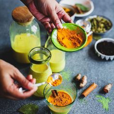 """Indian kitchen is incomplete without that golden powder. It goes in our food and drinks!"" -@playfulcooking Now ain't that the truth!  Check out the link in our bio to see why we love this golden spice so much!"