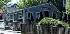 We ate at here at Queequeg's Restaurant on Nantucket.