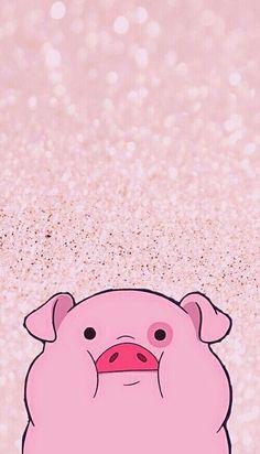 Картинка с тегом «pig, pink, and gravity falls»
