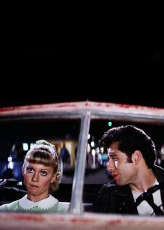 "thearidee: "" vintagegal: ""Grease "" Sandy's ""I'm sick of your shit"" face. 90s Movies, Iconic Movies, Classic Movies, Good Movies, Movie Tv, Grease 1978, Grease Movie, Danny Zuko, Film Aesthetic"