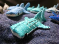 Christina Teng hand-makes these adorable felt whale sharks as a thank you to everyone who donates to her online fundraiser