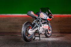 BMW K 100 RS by NASTY bike Custom Motorcycles, Cars And Motorcycles, Bmw K 100, Bmw Motorbikes, Bmw Cafe Racer, Cycling, Vehicles, Brick, German