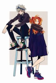 Kaworu x Asuka