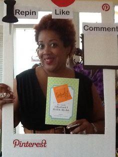 Owner of The Broke Socialite, Author Shameeka Ayers! Photo courtesy of @Bobbi