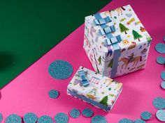 With the aim to make a lasting impression, Mathilde Habert and Claire Commeau founded Impression Originale, offering exclusive luxury wrapping paper and couture bows . Charles & Ray Eames, George Nelson, Claire, Decorative Boxes, Wraps, Gift Wrapping, Bows, Couture, Luxury
