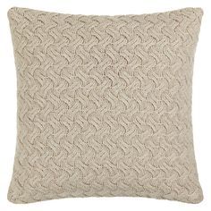 Buy John Lewis Croft Collection Knitted Waves Cushion Online at johnlewis.com