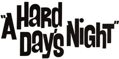 """The Beatles """"A Hard Day's Night"""" (1964)"""