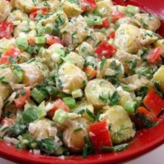 Potato and Vegetable Salad recipe