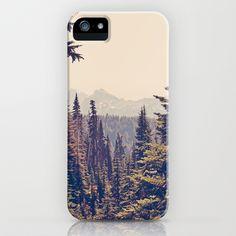 Mountains+through+the+Trees+iPhone+&+iPod+Case+by+Kurt+Rahn+-+$35.00