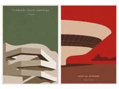 Andre Chiote | http://www.bimbon.com.br/projeto/andre_chiote_ilustracoes_de_simbolos_da_arquitetura