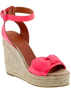 69e8b2a4a03 Marc by Marc Jacobs Pretty Knot pink wedge