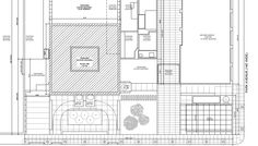 floor plan for ground floor showing retail space on South/East corner 432 Park Avenue, Floor Show, Retail Space, Ground Floor, Floor Plans, New York, Construction, How To Plan, Corner