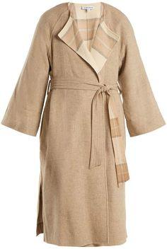 ELIZABETH AND JAMES Alrick reversible wool-blend coat