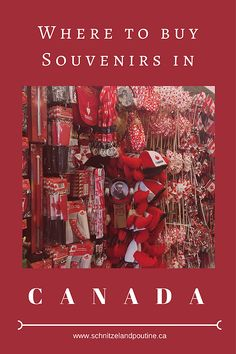 Where to buy your souvenirs in Canada | Travelblogger | Canada | Schnitzelandpoutine