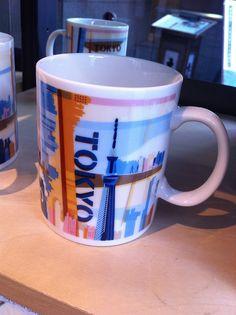 "The new design, ""Tokyo"" Starbucks mug"