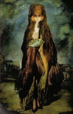 """The Marchesa Luisa Casati"" by Ignacio Zuloaga"