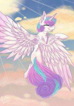 Princess Flurry Heart by LiddieNeko.deviantart.com on @DeviantArt