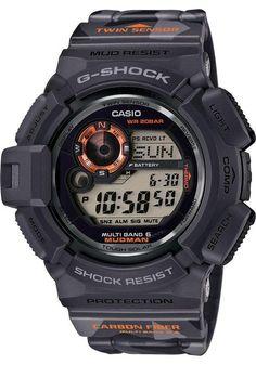 0288ff235af G-Shock MUDMAN Solar Black Camo Melhores Relógios