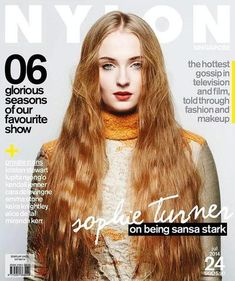 Nylon Singapore July 2014 | Game of Thrones Sophie Turner photographed by Krishan Parmar #AlbertaFerretti