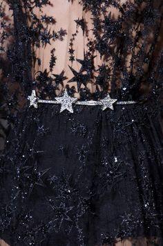 Rosamaria G Frangini | High Fashion Details | Black & Silver Desire | Zuhair Murad Details HC FW '15