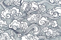 Oriental Cloud Drawing | Oriental Clouds by gkelleh on deviantART
