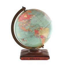 1940 Replogle Precision Globe, $135, now featured on Fab.