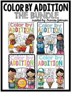 Color By Addition Bundle Pack is here! This is perfect for homework, morning work, centers, or a quick check for addition skills.Every activity has a different set of numbers for easy differentiation depending on your students needs!Included:5 addition coloring sheets for Fall, Winter, Spring and Summer. 20 addition sheets total.2 blank coloring sheets for each season.
