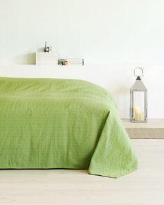 Narzuta AKELEJE 160x220 cm zielona