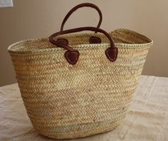 French Market Straw Bags.