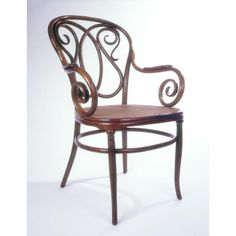 Armchair  Object Name: Armchair  ca. 1860  Manufacturer: Thonet Brothers