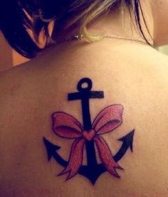 bows tattoo for girls  #tattoo  #back  #girls  www.loveitsomuch.com
