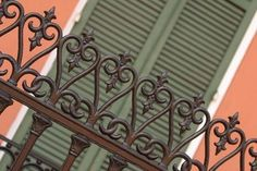 wrought iron fencing is so beautiful