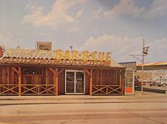 Austin BBQ Postcard Circa Late 50's Early 60's Demolished  Photo #1 by SouthEast Dallas Photographer, via Flickr