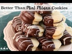 BETTER THAN MINT MILANO COOKIES - Butter with a Side of Bread