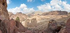 Around 400 B.C., the Nabataeans established a trade network stretching from...