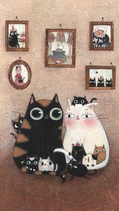 Трогательные детские иллюстрации Маддалены Герли - Ярмарка Мастеров - ручная работа, handmade
