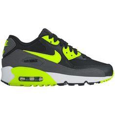 toffe Nike air max 90 mesh jongens sneakers (Zwart)