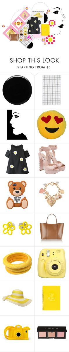 """dollop of daisy."" by ekhayz ❤ liked on Polyvore featuring Deborah Lippmann, Le Chateau, Miu Miu, Marc by Marc Jacobs, Dolce&Gabbana, Tuleste, Fujifilm, Dorothy Perkins, Moschino and Bobbi Brown Cosmetics"