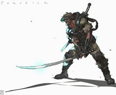 ArtStation - 69, 人 山 Cyberpunk, Sci Fi, Character Design, Fantasy, Artwork, Fictional Characters, Armour, Tech, Art Work